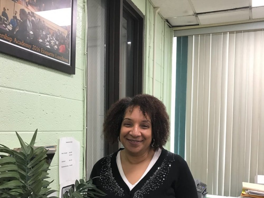 Lisa Thomas often greets visitors at FDA while responsible for a variety of tasks, essential to the school.