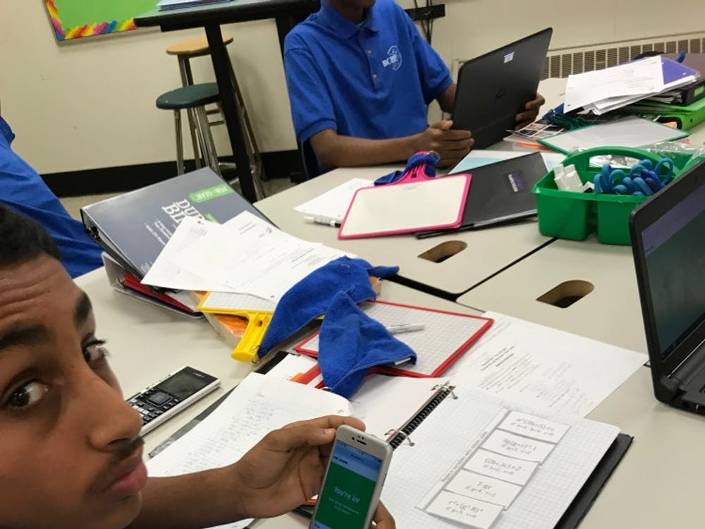 In classrooms like Ms. Schwendemann's, smartphones become just another school supply.