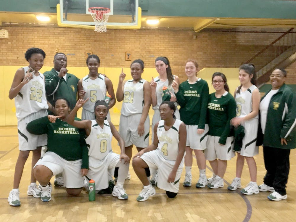 Players on the the Cristo Rey girls basketball team said their winning season can be credited more teamwork, better communication, new members with excellent skill and even players' height.
