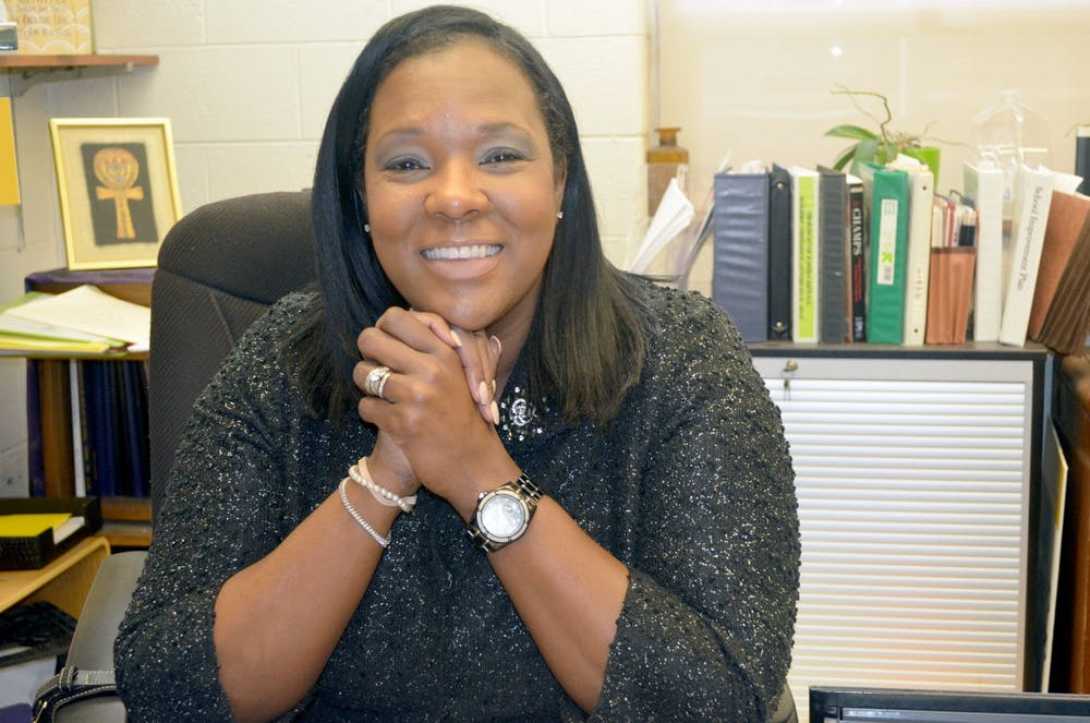 <p>&nbsp;Donya Odom has been principal at CMA for 11 years. Courtesy photo.</p>