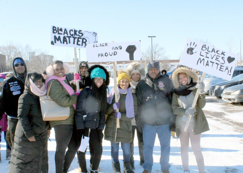 <p>Despite cold temperatures, many participated in the 10th annual Martin Luther King Jr. Legacy March.&nbsp;</p>