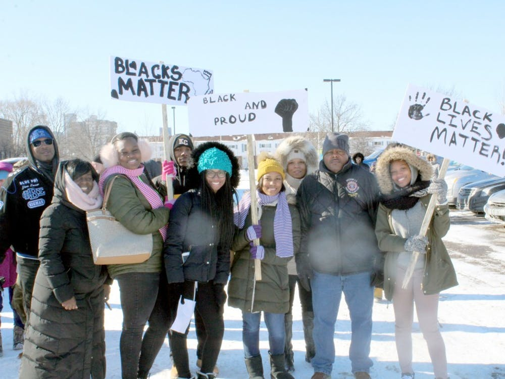Despite cold temperatures, many participated in the 10th annual Martin Luther King Jr. Legacy March.