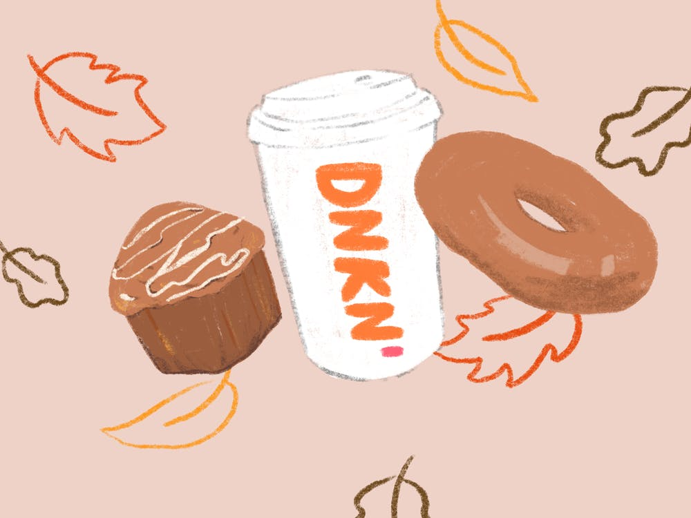 dunkin fall menu