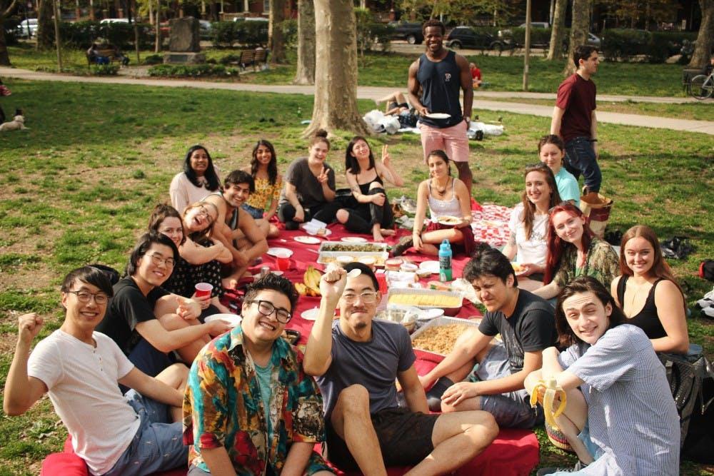 Penn SLAP Spring Fling Potluck Picnic (Cred. Michelle Lyu)