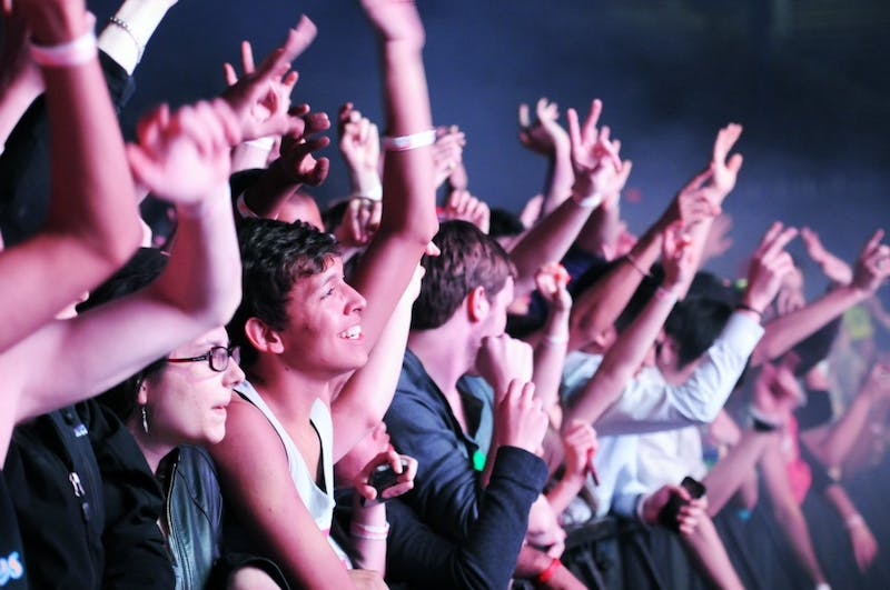 Passion Pit and Tiesto perform at Spring Fling
