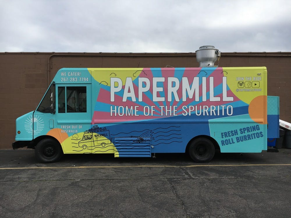 Paper Mill Meet University Citys Trendiest New Food Truck 34th