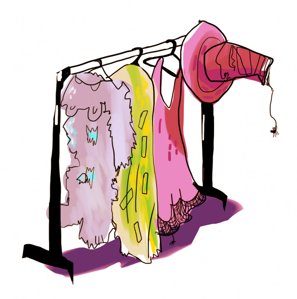 costumes on rack png