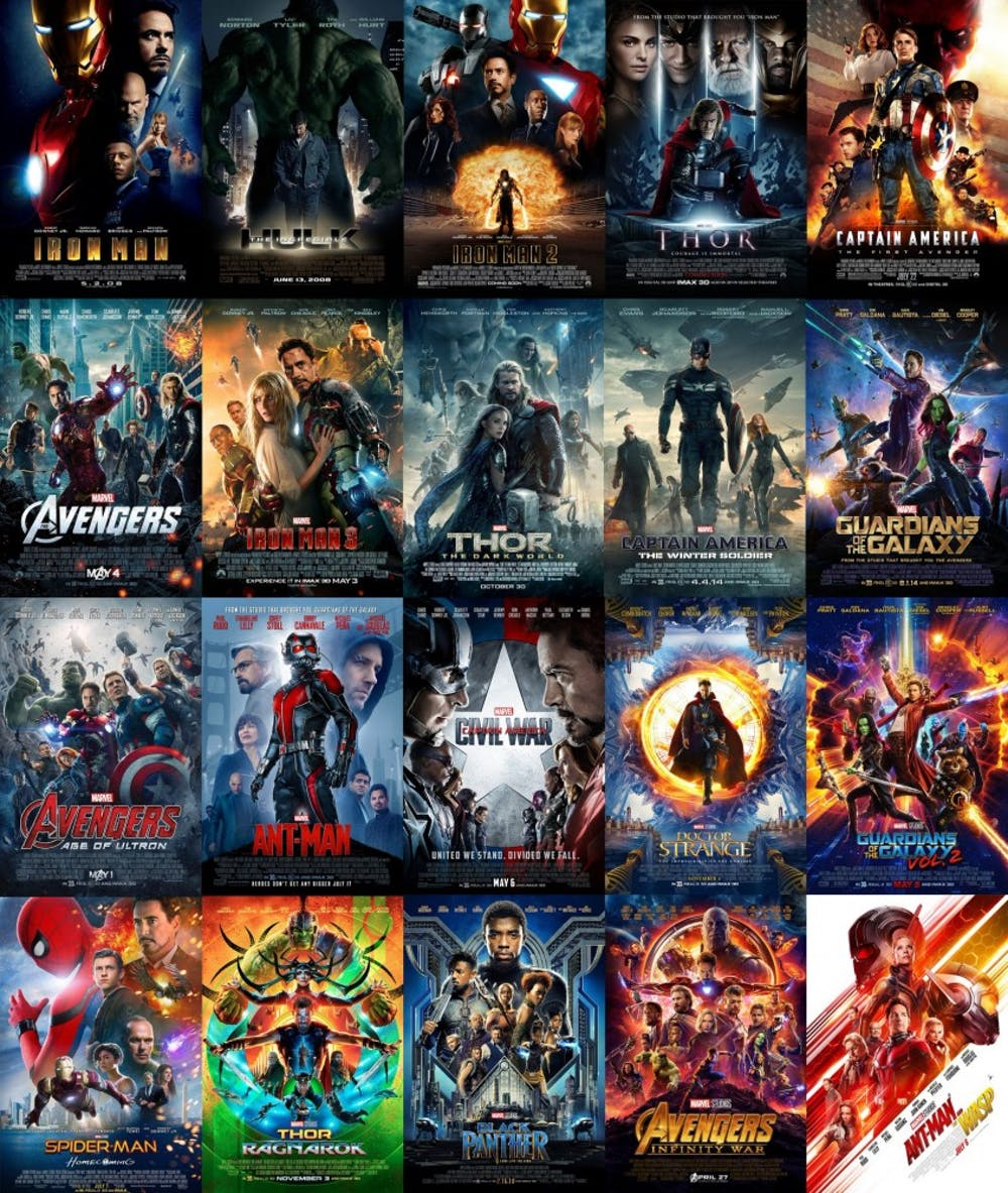 Ranking Every Marvel Movie From Worst To Best 34th Street Magazine