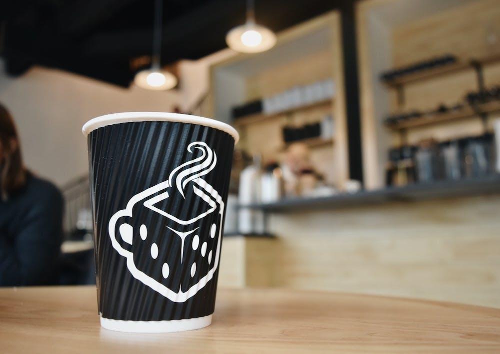 Board and Brew coffee