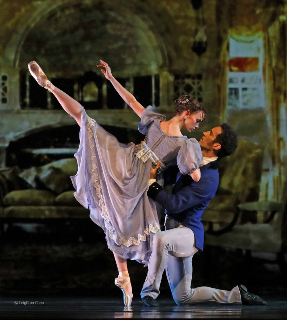 American Repertory Ballet dancers Monica Giragosian and Mattia Pallozzi in Douglas Martin's Pride and Prejudice. Photo Leighton Chen.jpg