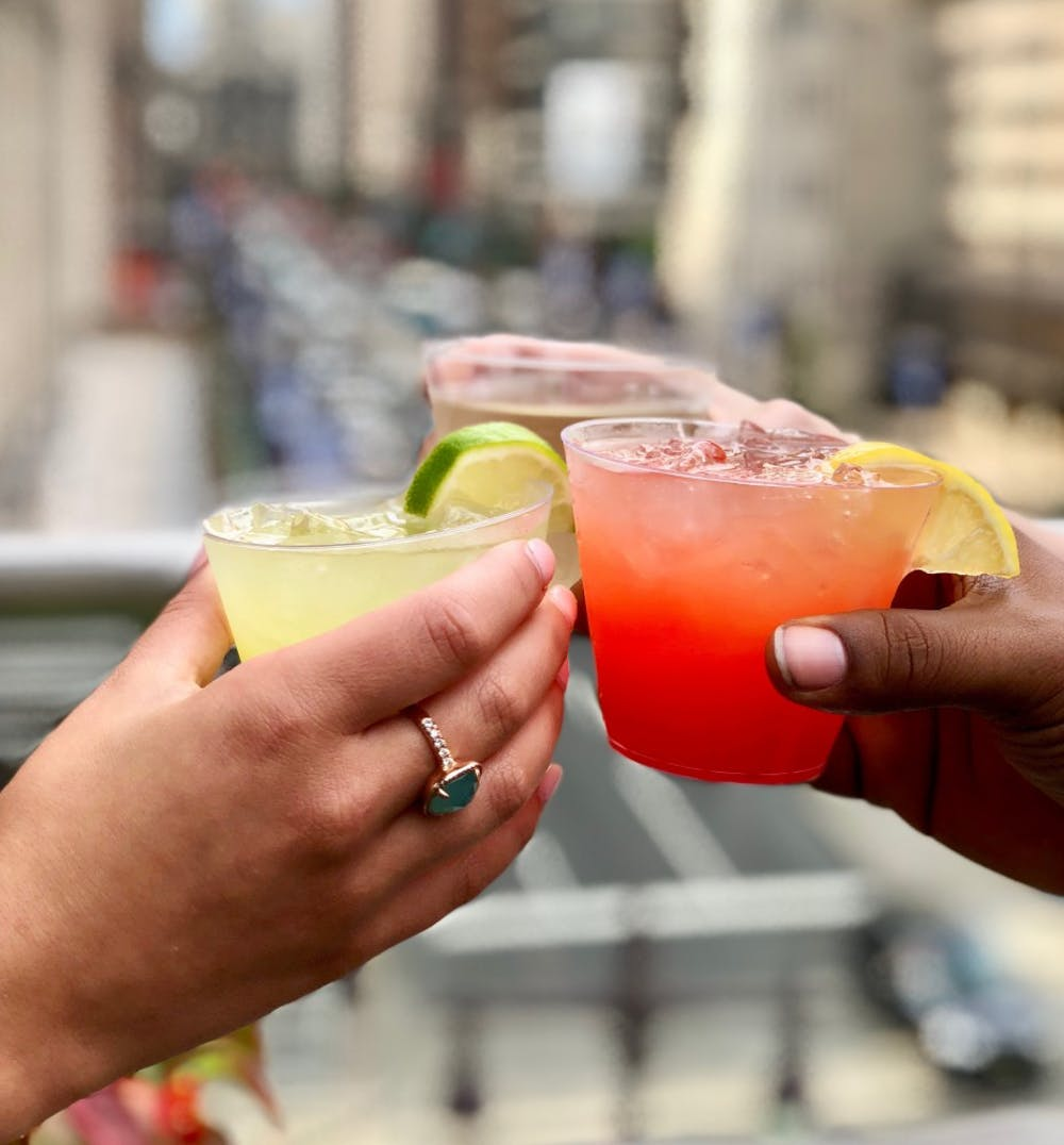 A couple of Distrito margaritas. Photo courtesy of Distrito.