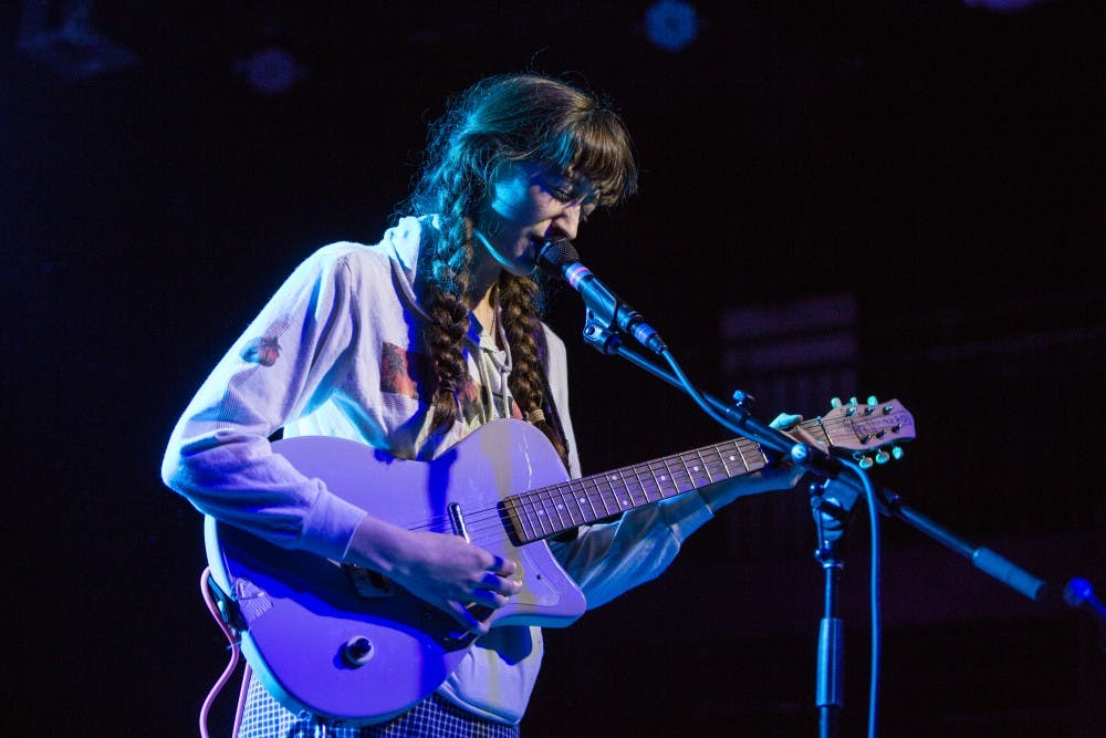 Frankie Cosmos in concert