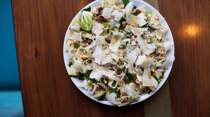 farro and apple salad