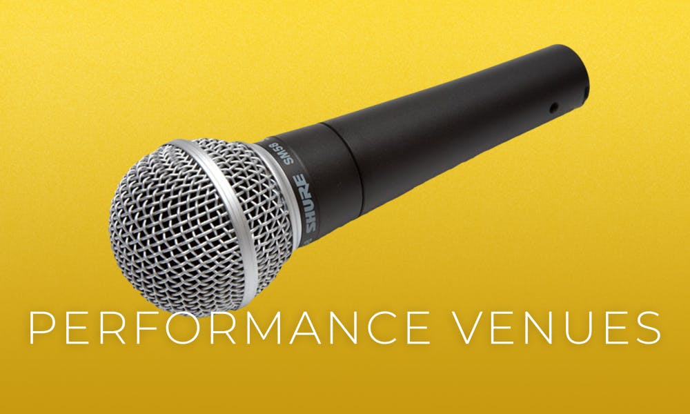 performance venues