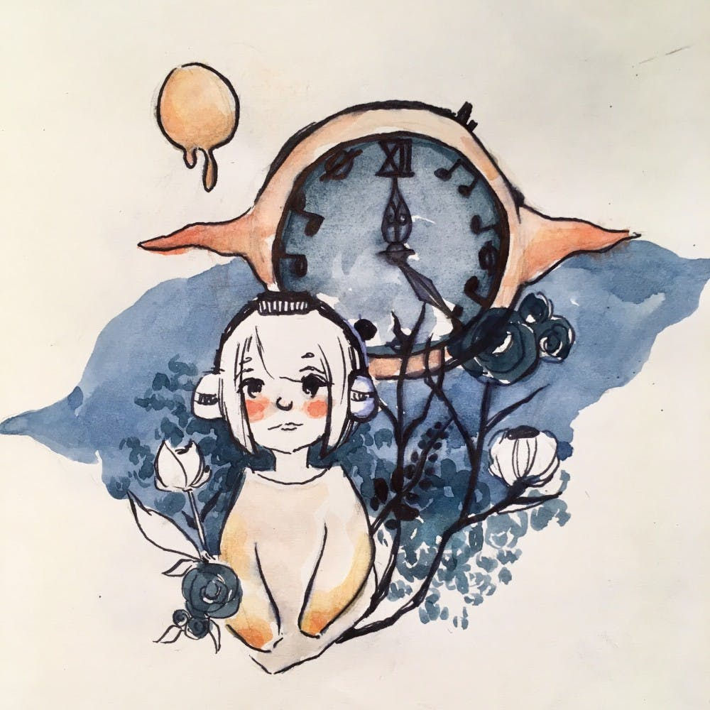 AnneChen.playlist-songs that deals with time.JPG