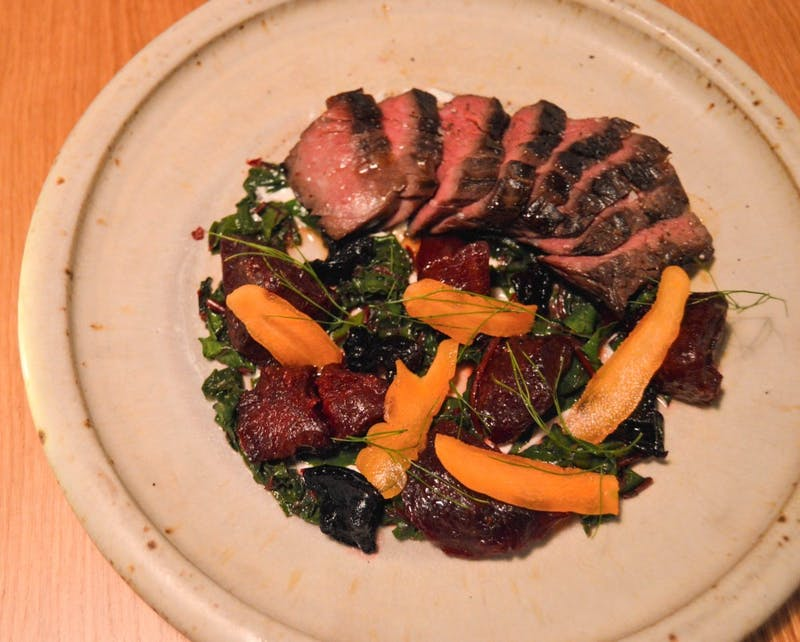 beef with beets and carrots