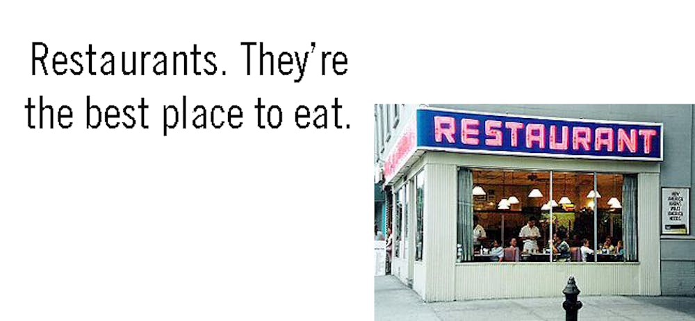 Top 10: Campus Eatery Slogans | 34th Street Magazine
