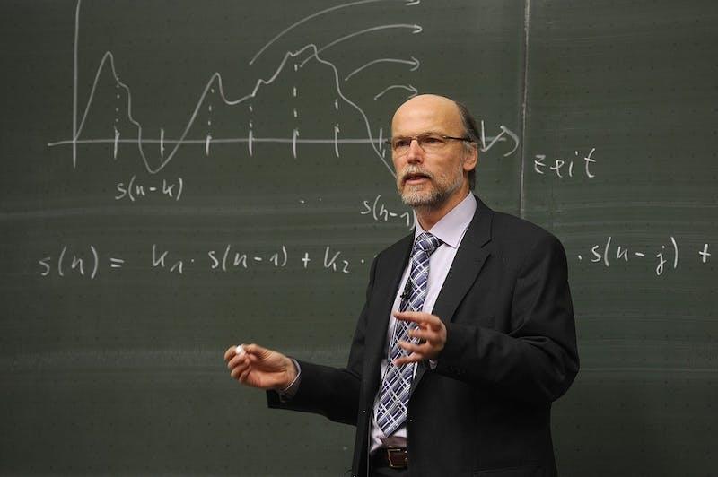 Impressive: This Math Professor Hasn't Blinked Since 1982