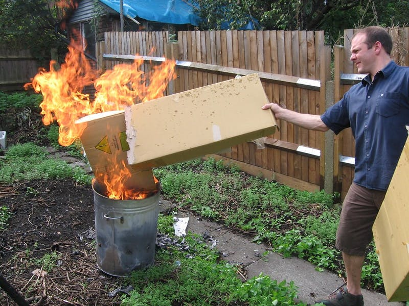New Option for Stored Belongings: Incineration, $75 per Box