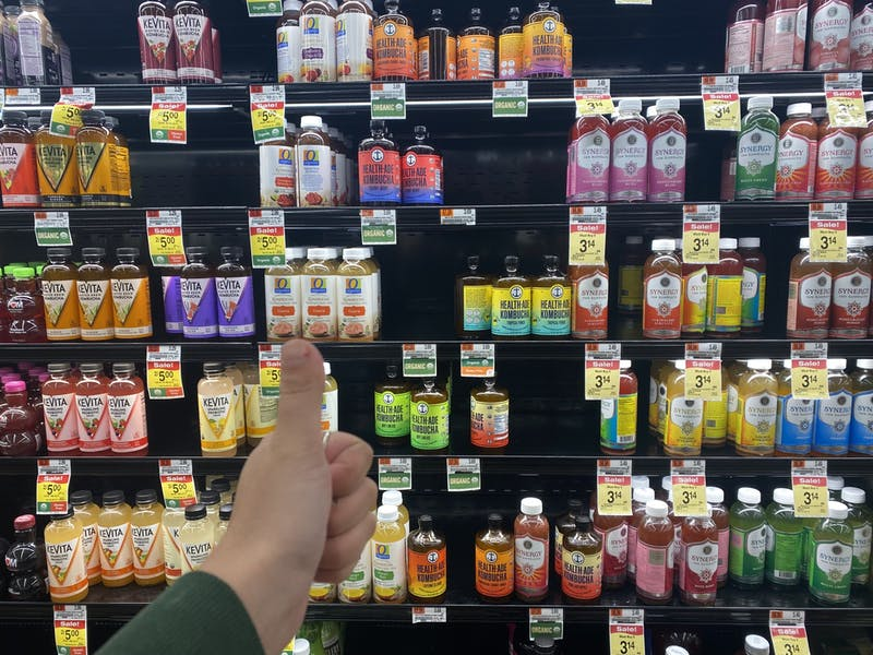 Gift With Purchase: The Kombucha in Acme is Free if You Want it to be