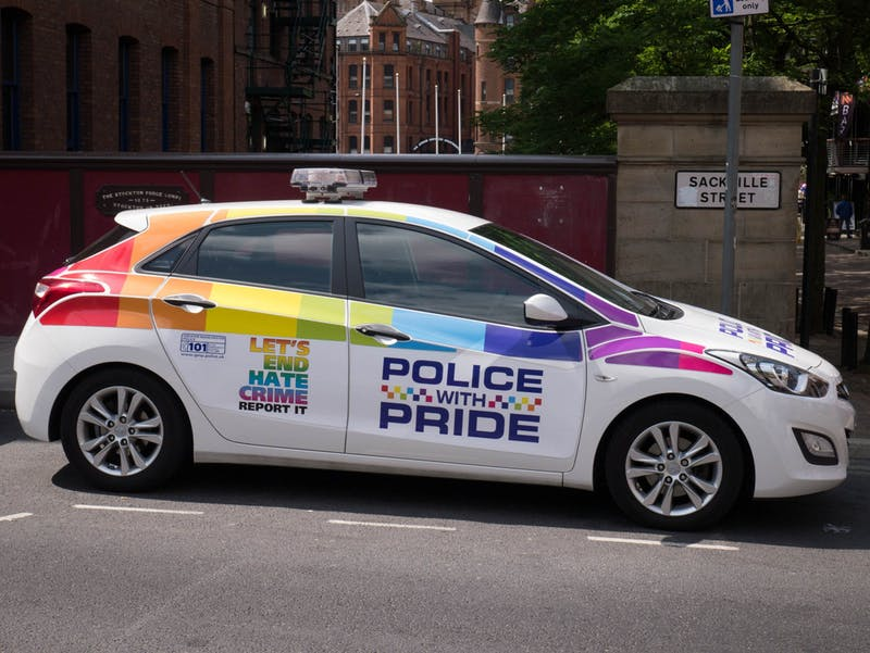 Oink Oink! Meet the Gay Cop Queering White Supremacy