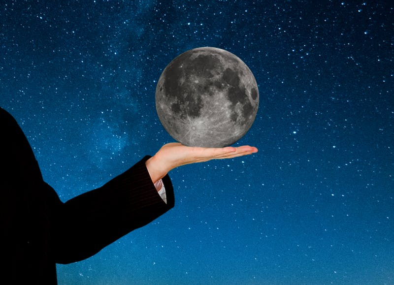 Penn Astronomers Discover Moon is Actually Extremely Close and Just Very Small
