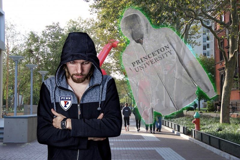 New Jersey's Revenge? Penn Freshman Haunted By Ghost of Discarded Princeton Hoodie