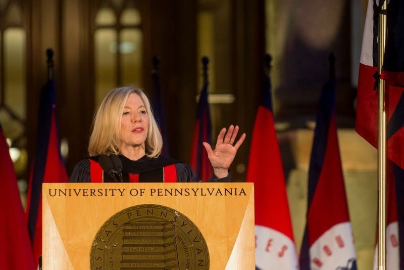 Amy Gutmann Vows to Achieve Net-Zero Salary Increase by 2050
