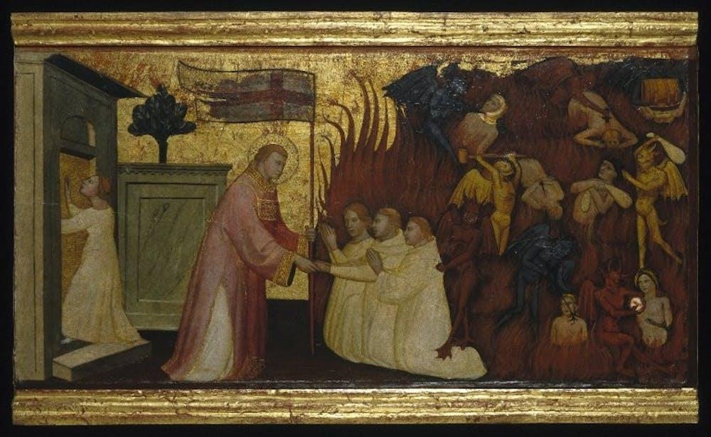 brooklyn_museum__saint_lawrence_liberates_souls_from_purgatory__lorenzo_di_niccol