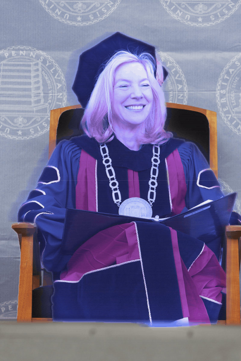 Wow: 80% of University Funds Allocated to Maintenance of Hologram Amy Gutmann