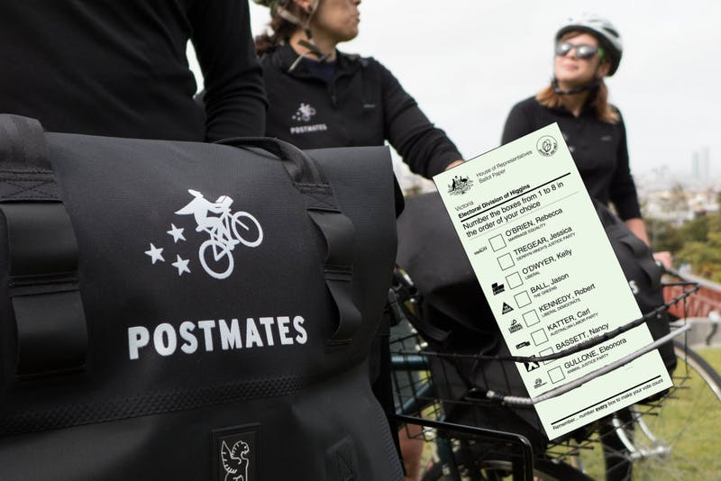 Student Voter Turnout at Record Low After Postmates Discontinues Ballot Delivery