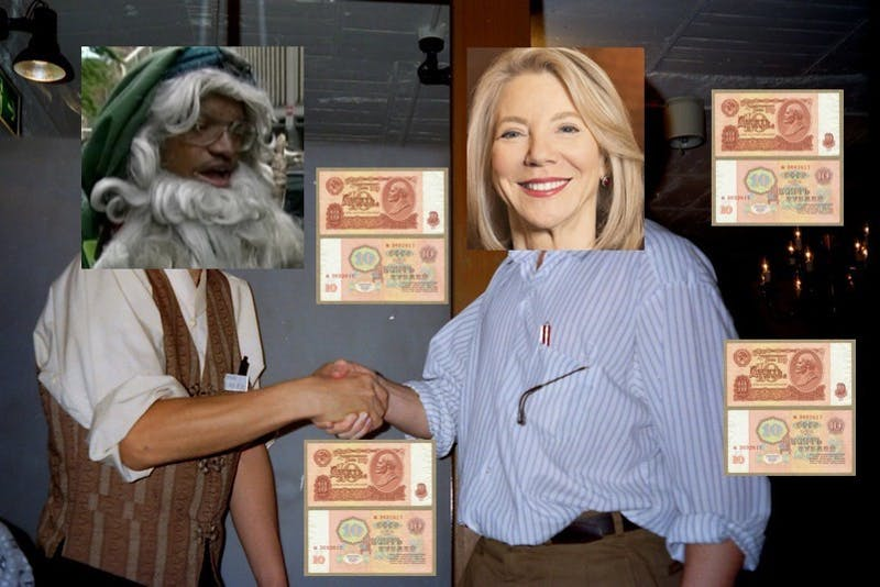 Going Out With A Bang! Gutmann Sells Stouffer College House To Old Wizard For Seven Rubles