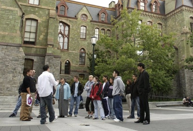 Tour Group Mistakes Sadness in the Eyes of Students for Intelligence