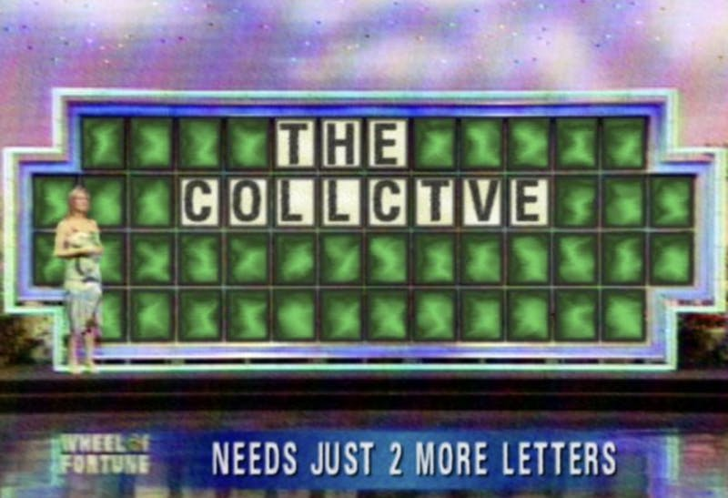 The Collctve Goes on Wheel of Fortune to Buy a Vowel