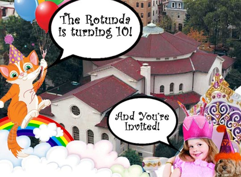 Rotunda To Host A Very Arty Party