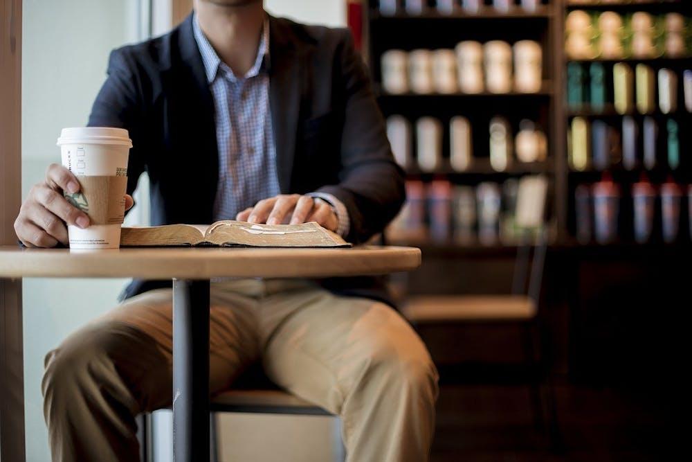 mandrinkbookcoffeeindoorscaffeineperson1869617