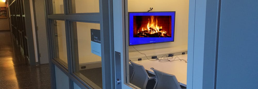New Study Finds That Students Who Put Up Virtual Fireplaces In Gsrs