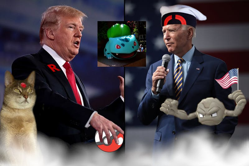 BREAKING: Trump and Biden Put Aside Differences, Agree Bulbasaur Best Starter Pokémon