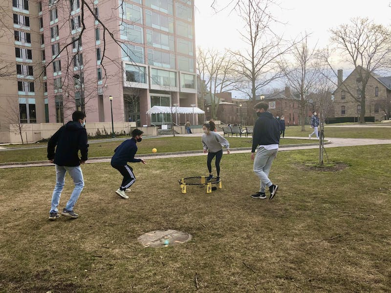 Relief! Spikeball Season Continues Strong Following Sports Cancellation