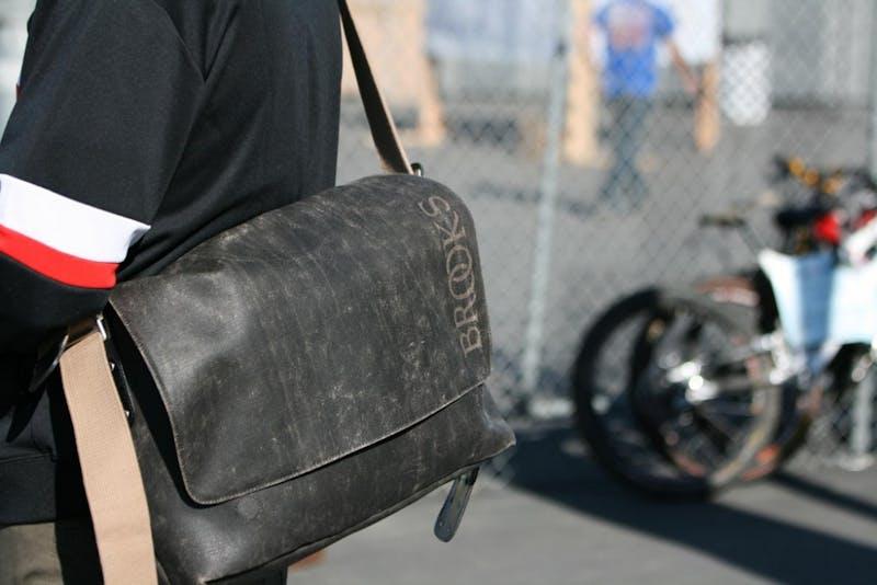 Senior Upgrades From Ugly Backpack to Ugly Messenger Bag