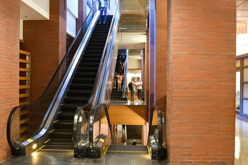 Wharton Student Horrified by Immobile Staircase