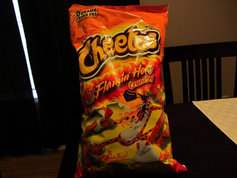 Sophomore off Meal Plan Will Totally Save Bank Purchasing Flamin' Hot Cheetos in Bulk