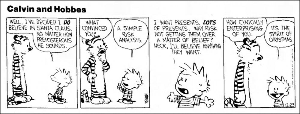 Biology Professor Cancels Midterm After Forgetting to Include Motivational Calvin and Hobbes Cartoon
