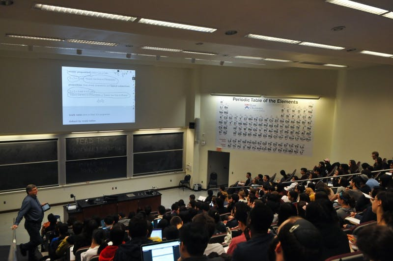 World-Renowned Guest Lecturer Has Record High Attendance of Students Texting on Laptops