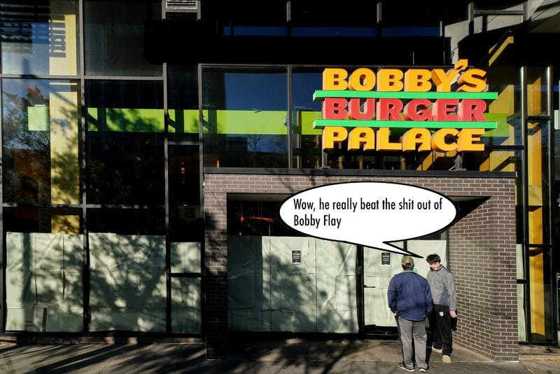 Bobby's Burgers Exposed: I'm the One Who Beat Bobby Flay