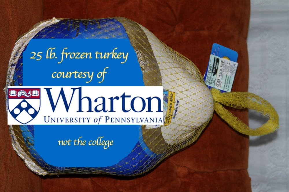 Penn Bookstore Introduces Wharton Branded 25lb Frozen Turkey