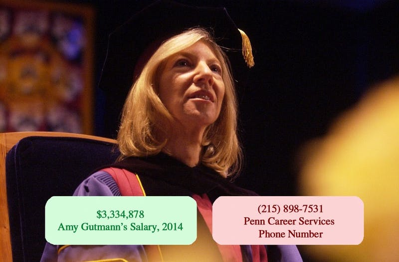 Quiz: Phone Number or Amy Gutmann's Salary?