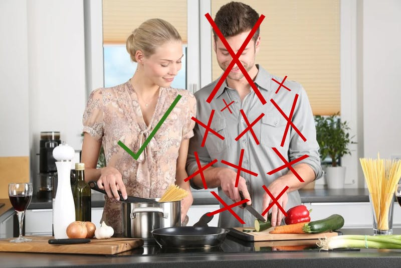 Reclaimed! ONLY Women Allowed To Be In Kitchen, Eat