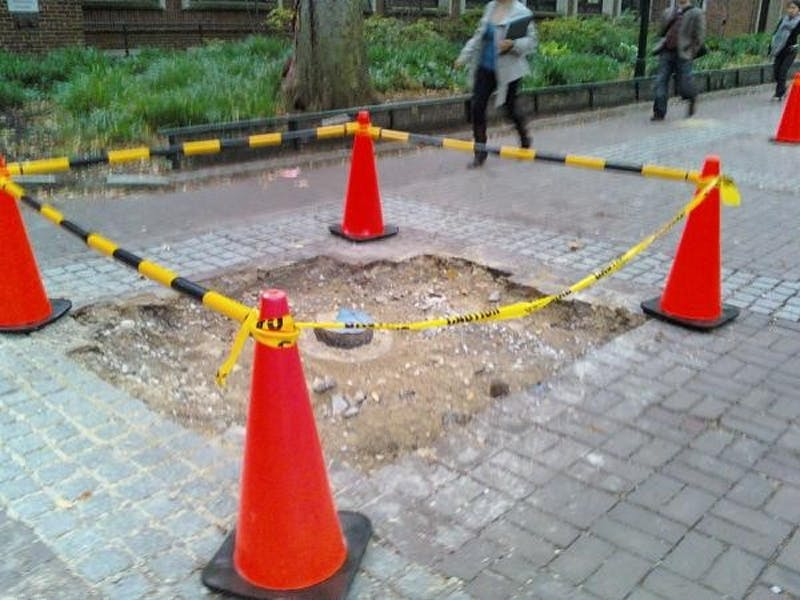 The Mysterious Locust Walk Excavation