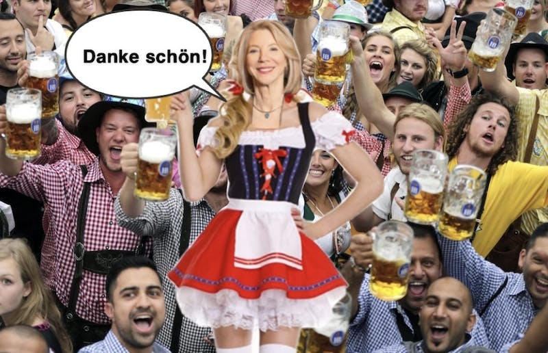 Gutmann Shopping for Oktoberfest Outfit: 'Which Sexy Lederhosen Is Most Professional?'